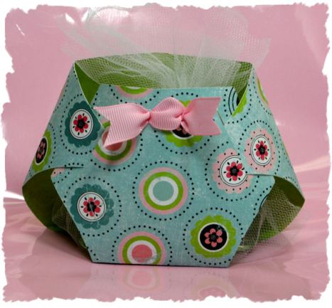 Baby Shower Invitation Template: Baby Boy Diaper