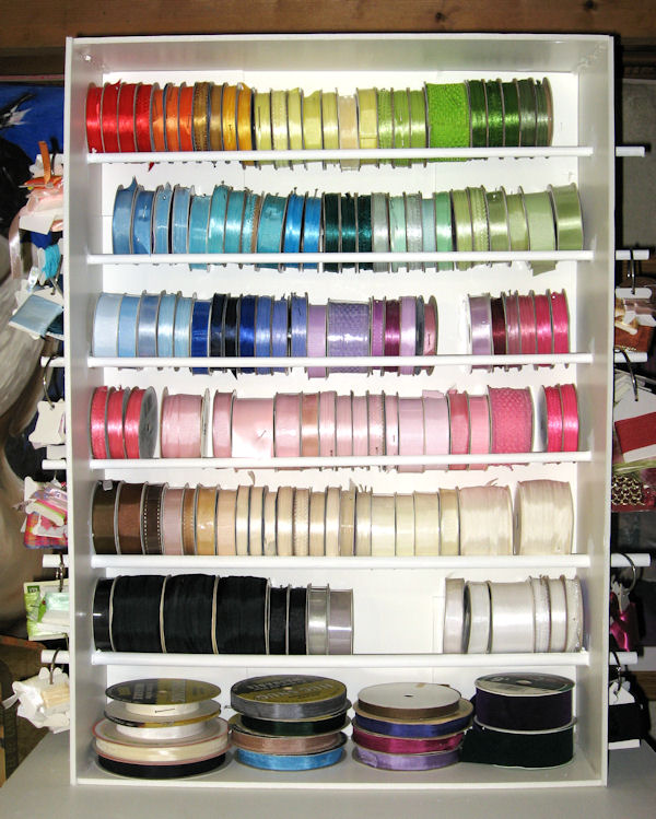 Let's Make a Ribbon Shelf! | The Frugal Crafter Blog