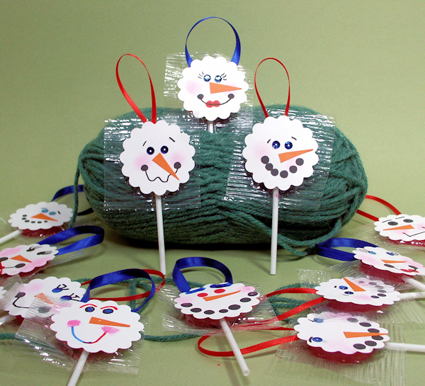 Awesome Snowman Craft Ideas For Kids Part - 13: Directions: