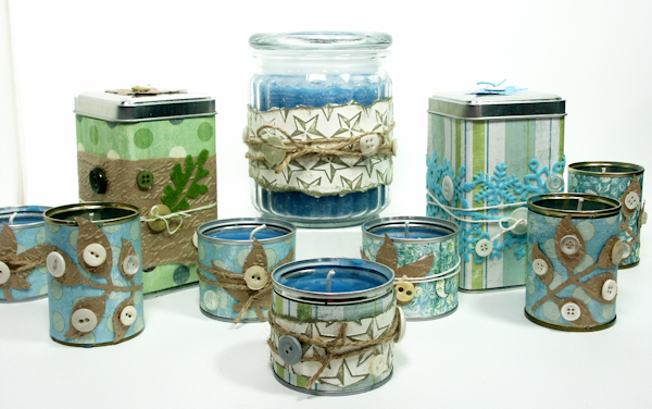 Let s make candles and recycle too thefrugalcrafter for Can you recycle cookie tins
