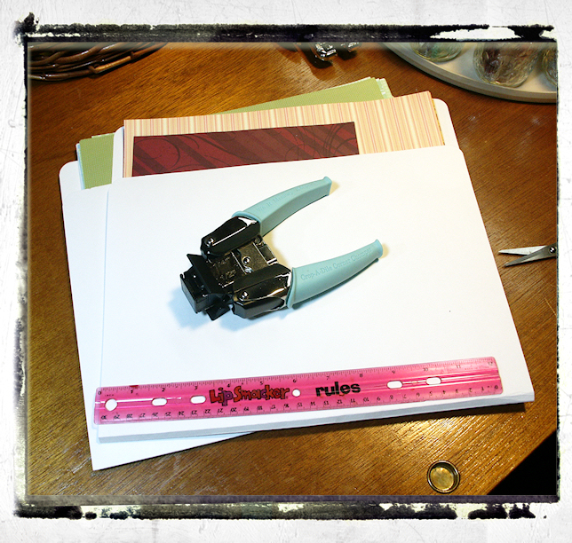 Tutorial 1212 Scrapbook Paper Folders The Frugal Crafter Blog