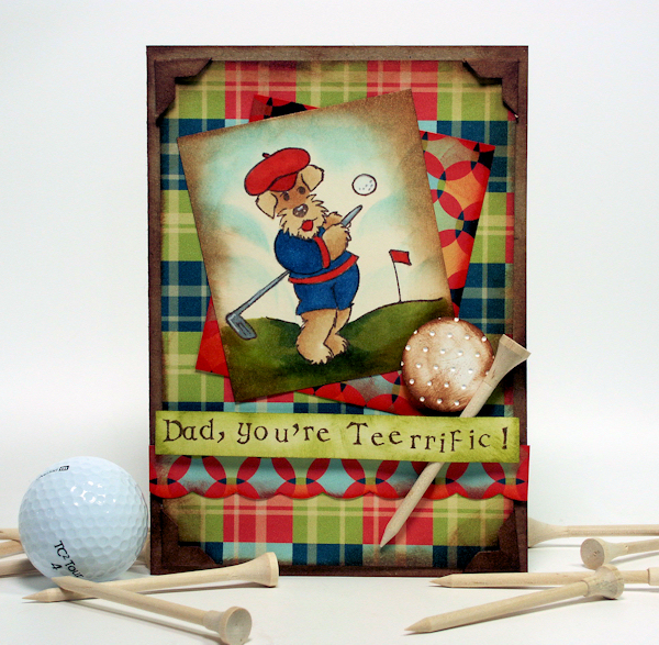 A Tee-rific Father's Day Card! | The Frugal Crafter Blog