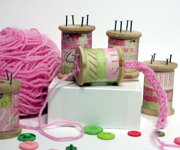 Knitting Nancy How To Use : Diy knitting spools thefrugalcrafter s we