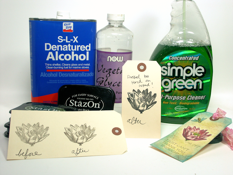 denatured alcohol | The Frugal Crafter Blog
