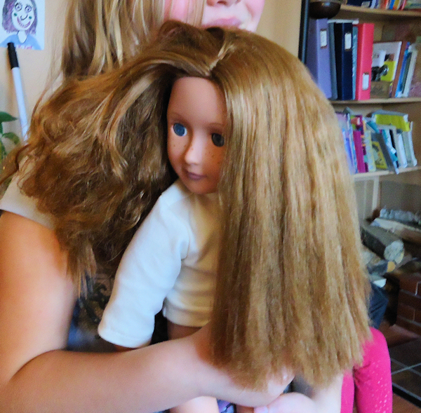 Tutorial How To Fix Frizzy Doll Hair The Frugal