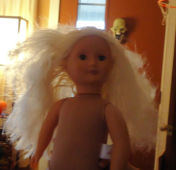 Tutorial How To Fix Frizzy Doll Hair The Frugal Crafter Blog