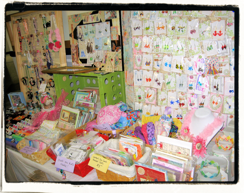 how to set up a booth at a craft fair the frugal crafter blog