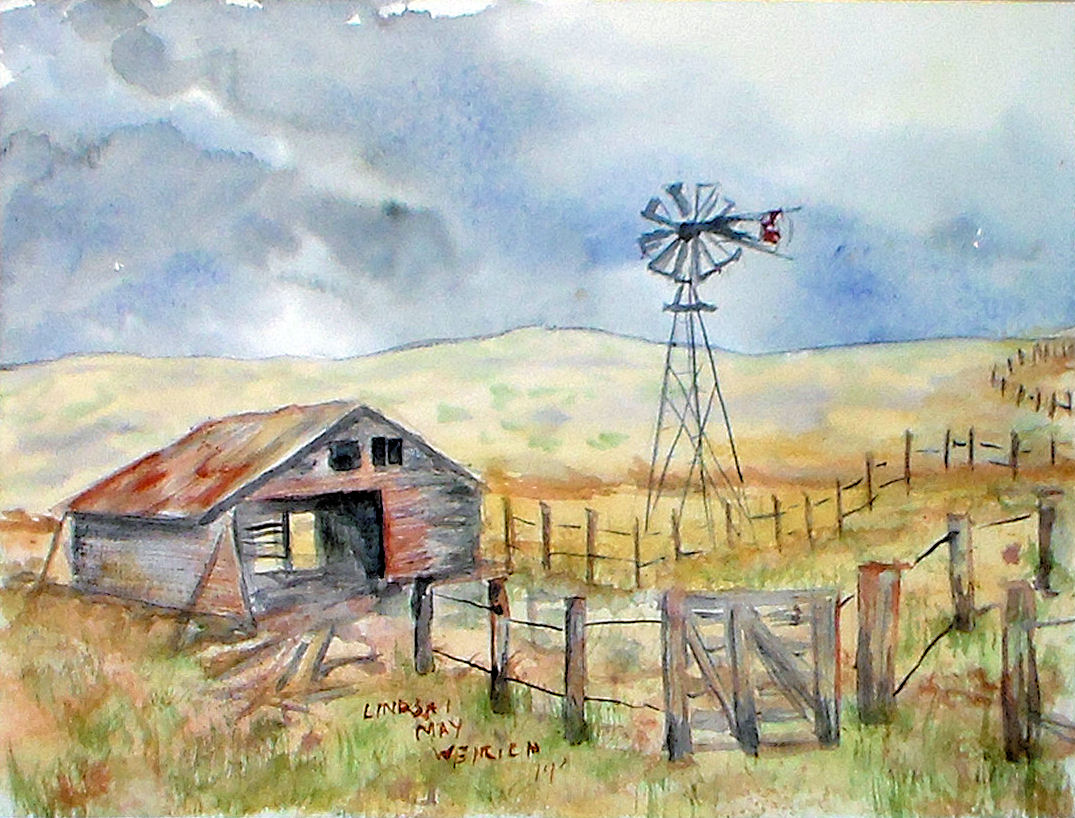 A Prairie Painting Tutorial with a FREE Pattern! | The
