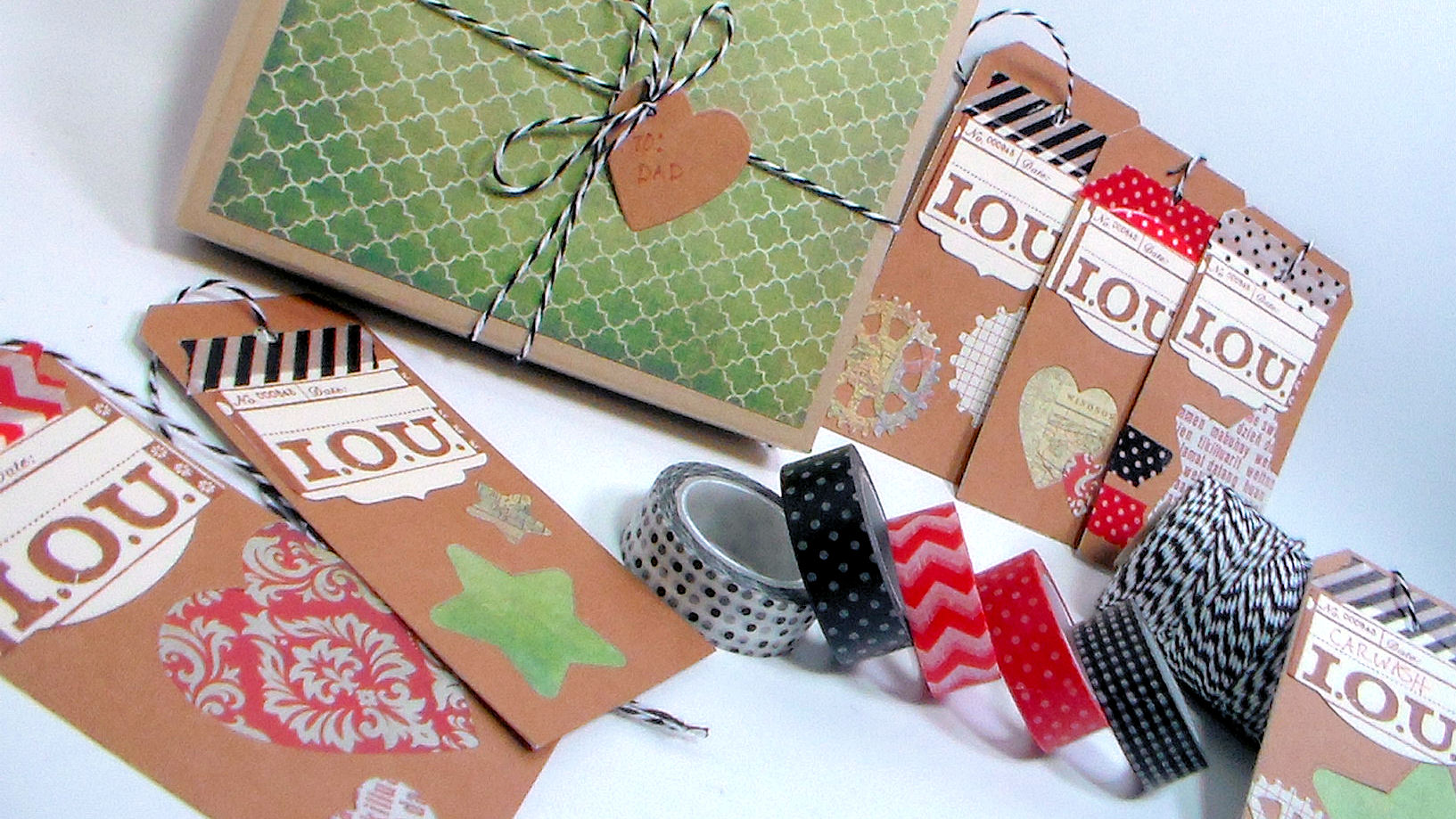 A thoughtful gift for dad the frugal crafter blog for Thoughtful gifts for dad from daughter