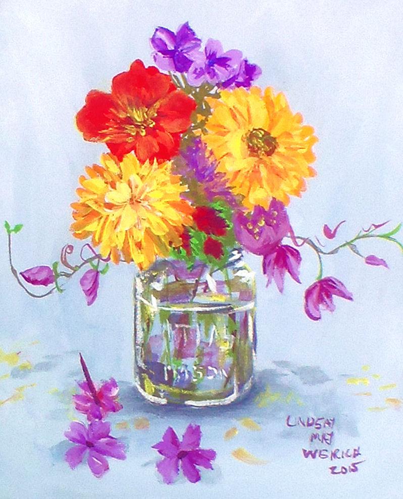Turner acryl gouache the frugal crafter blog lindsayweirichturnerflowers reviewsmspy