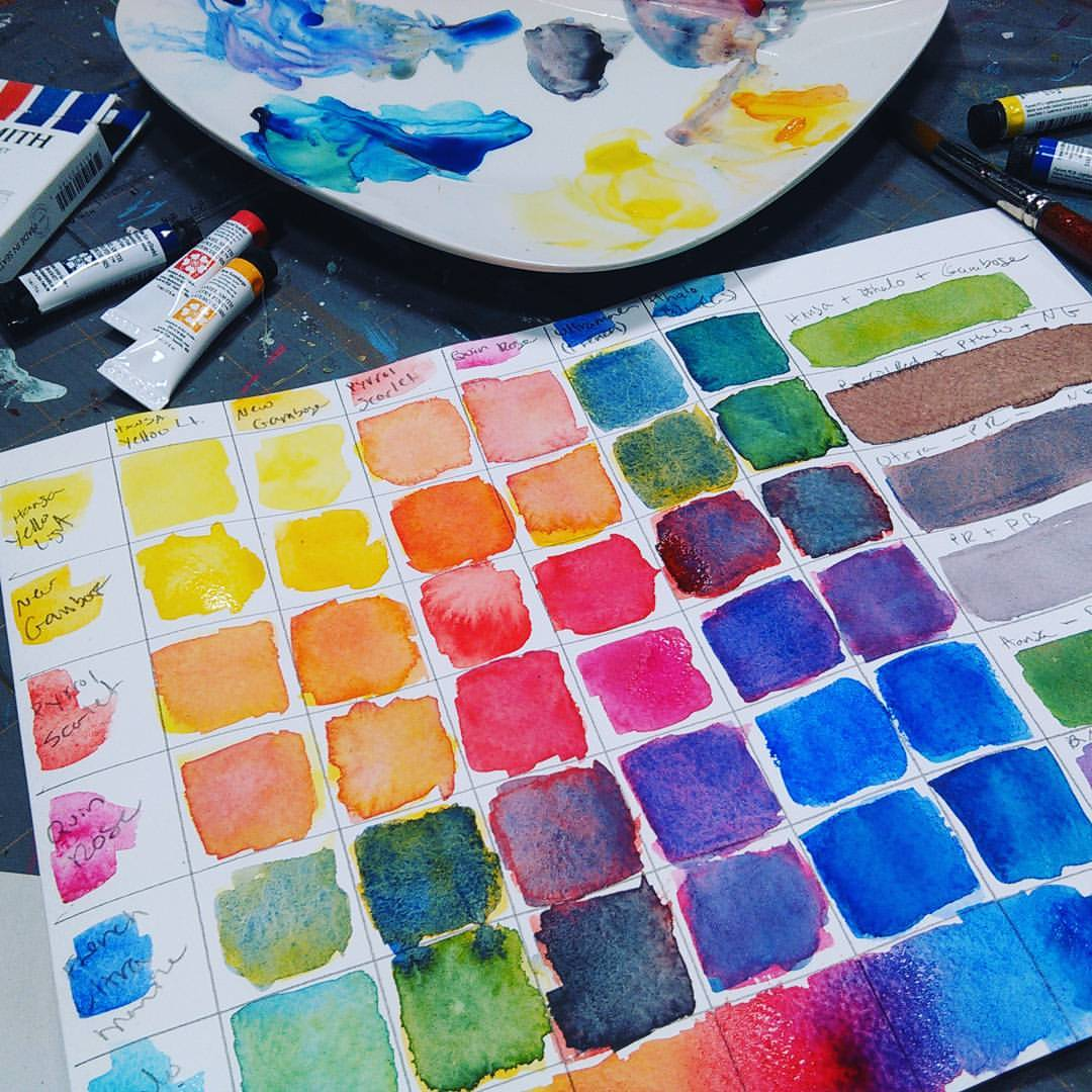 review of expensive watercolors daniel smith the frugal crafter blog