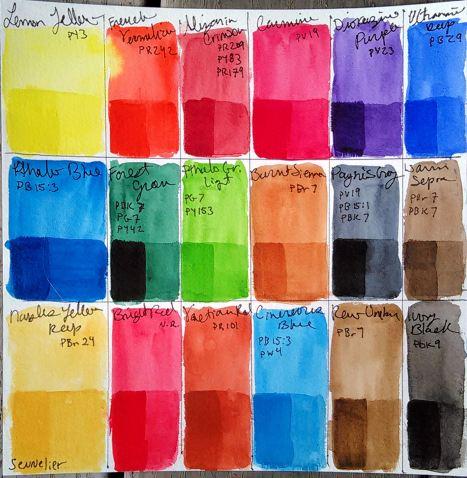 sennelier_18_color_set