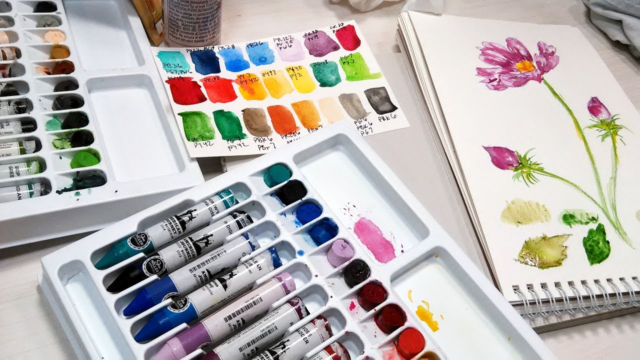 Review: American Journey Watercolor Sticks | The Frugal