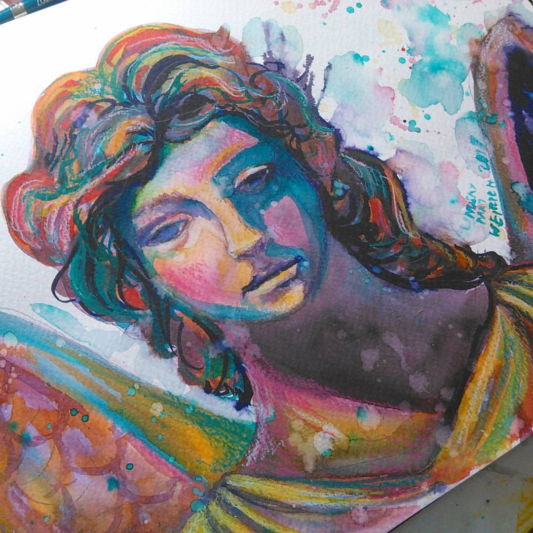 Let Paint a Weeping Angel Statue 12 30pm ET Today LIVE