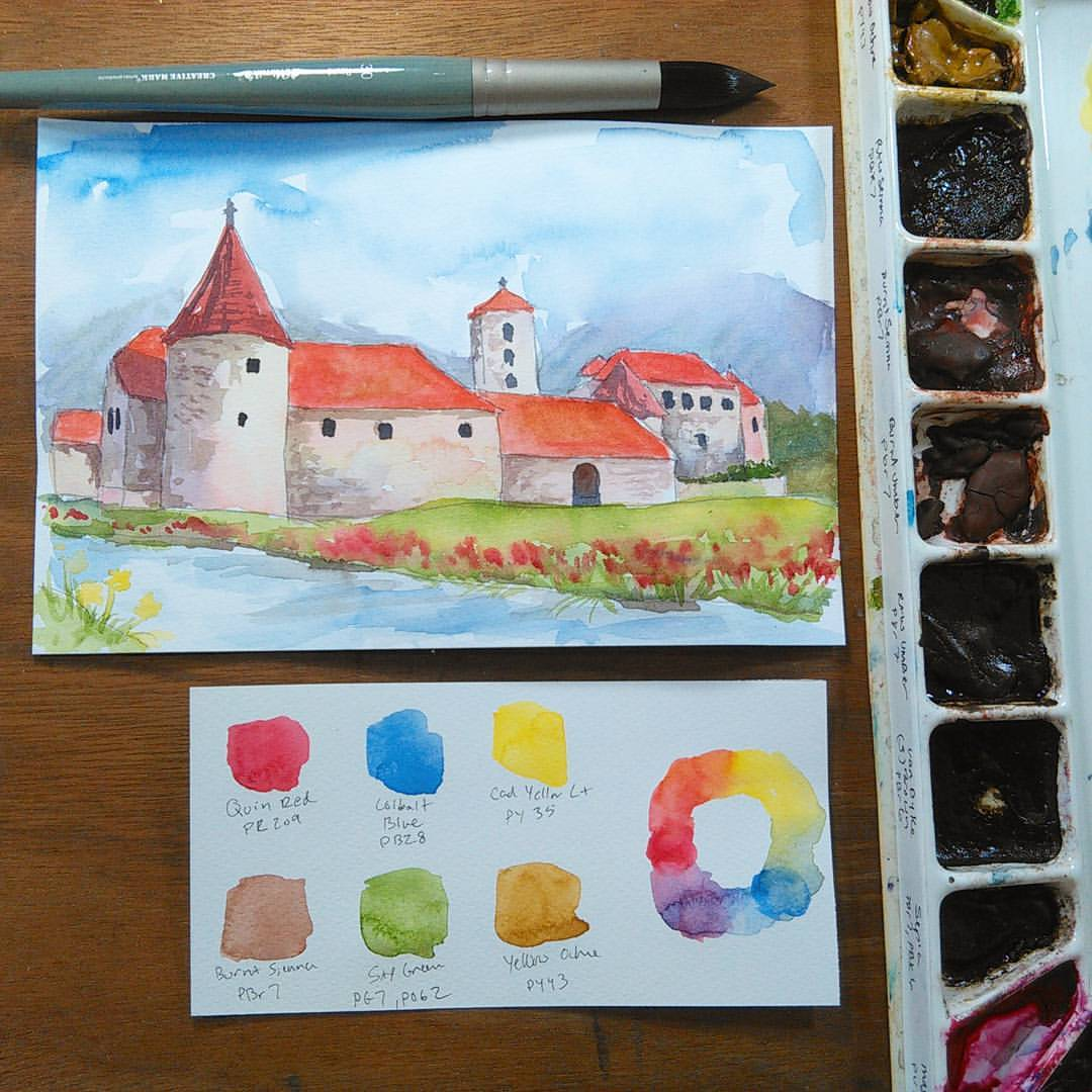 LIVE Castle Paint-a-thon