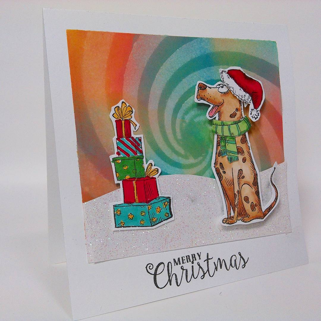 Cute Christmas Pup Card!