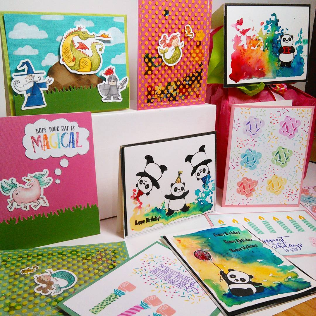 Fun Kids Birthday Cards You Can Make in Batches!
