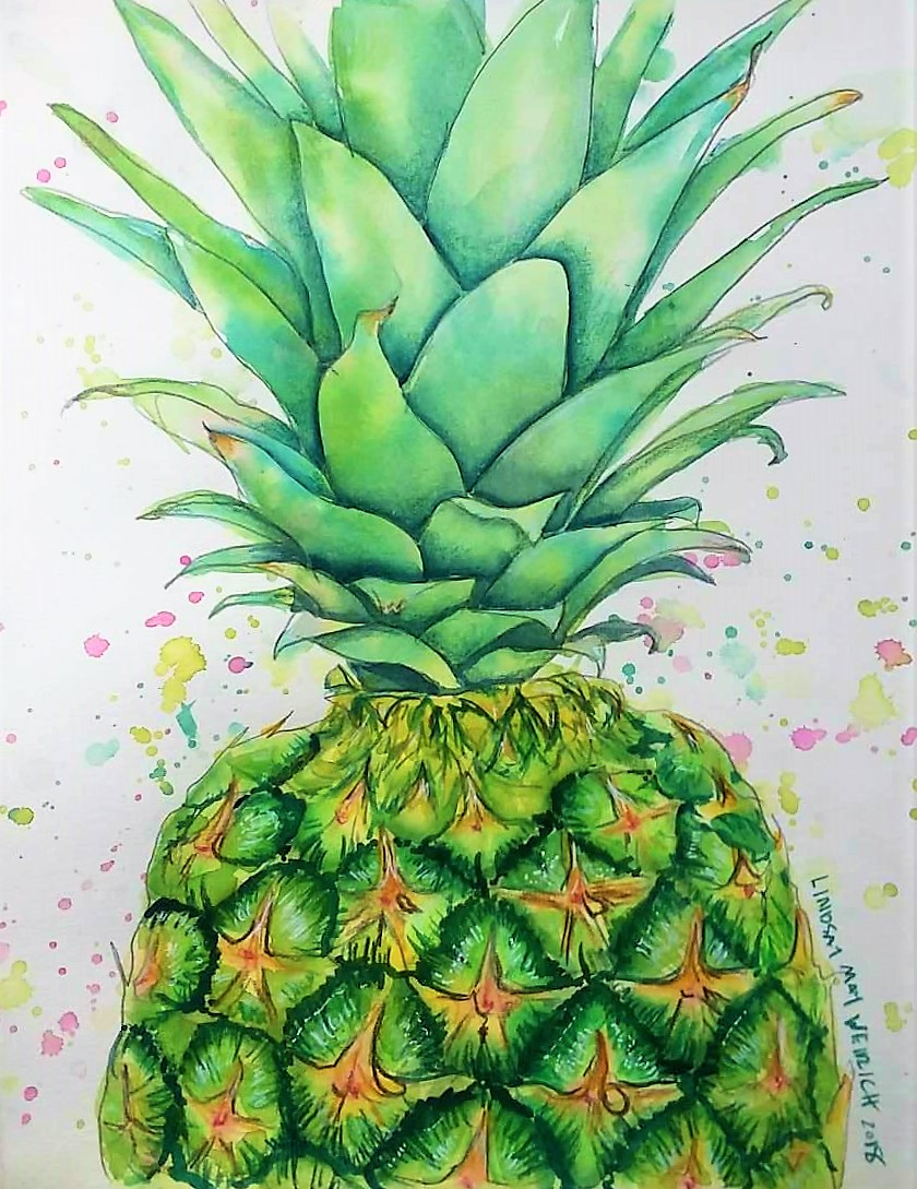 Paint a Pineapple LIVE 12:30pm Today!