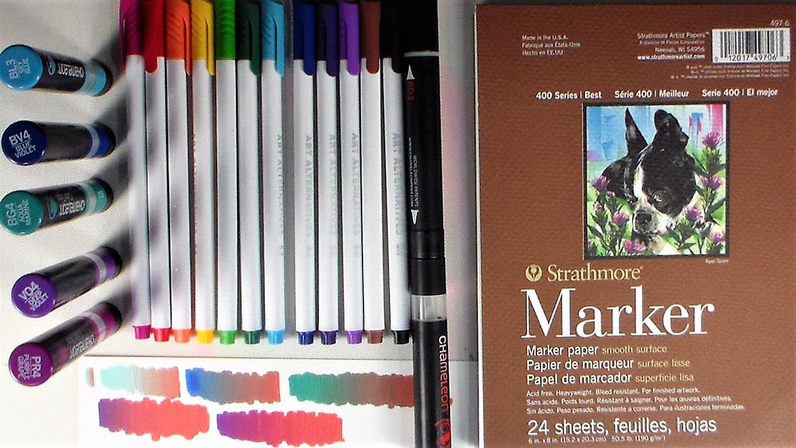 Smart Art February Box Marker Play!