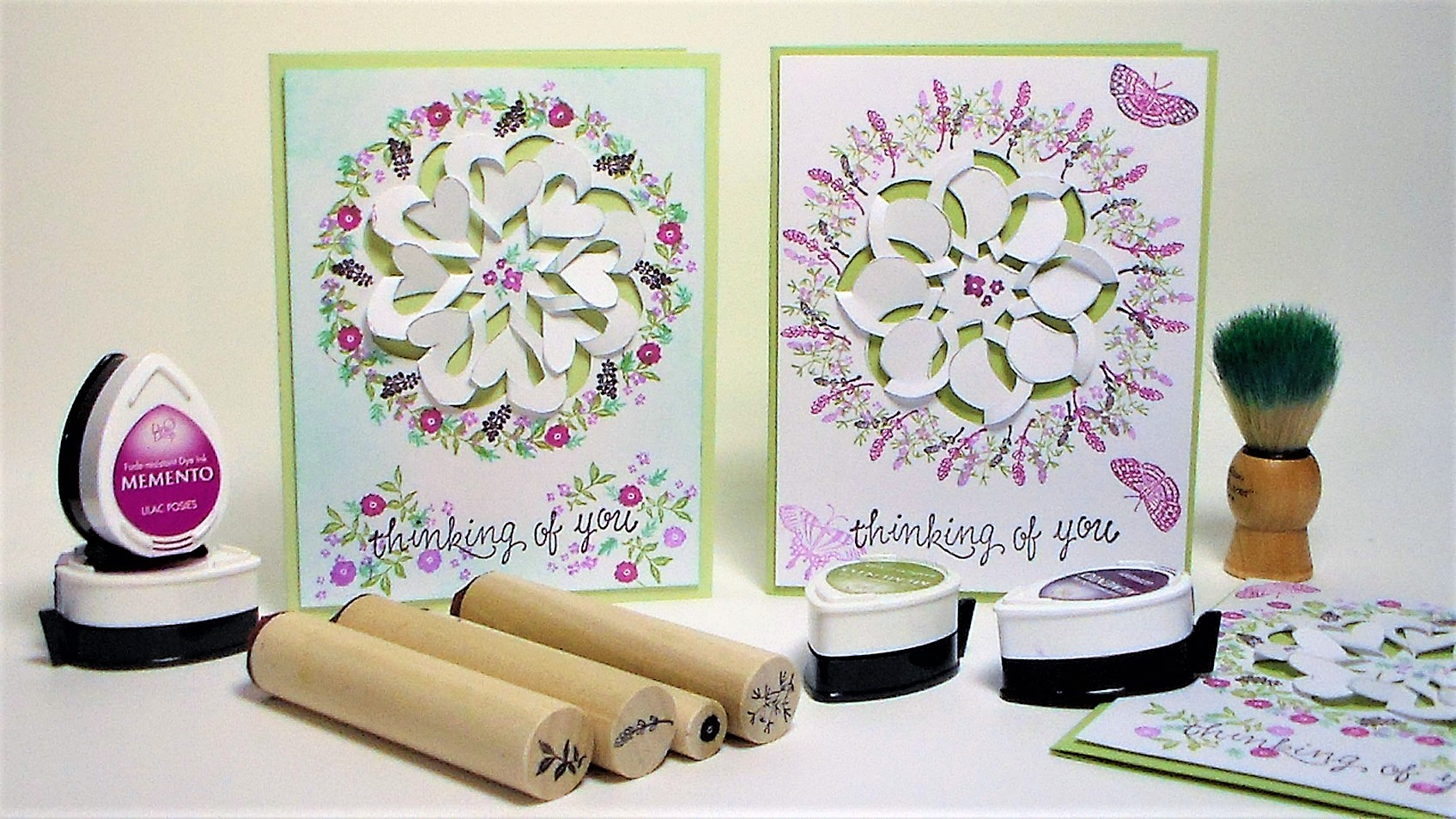 Create Beautiful, Lacy, Cut, Tuck & Fold Wreath Cards Using Supplies You Have!