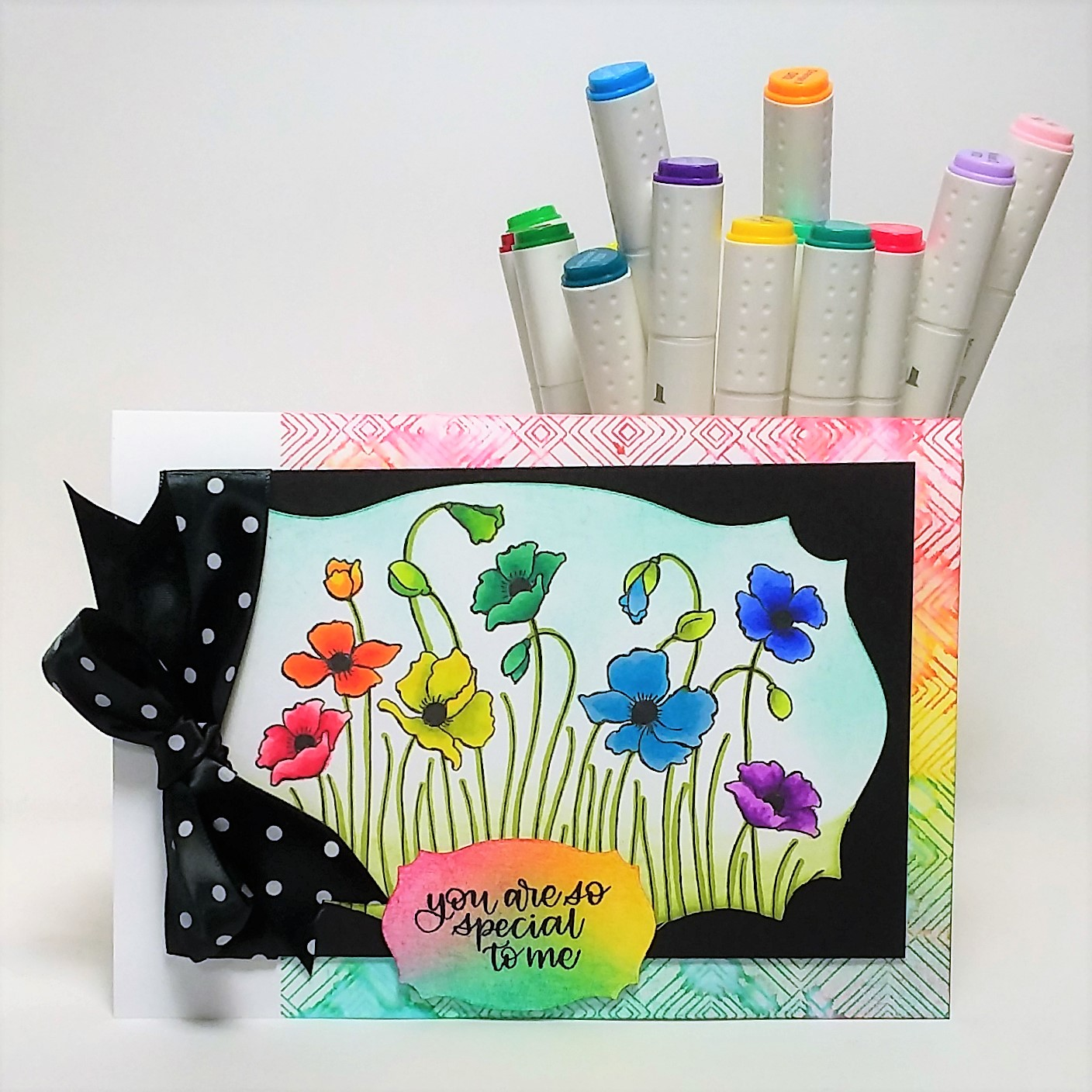 Maker and Stamp Giveaway! PLUS 2 ways to blend and stencil with alcohol markers!