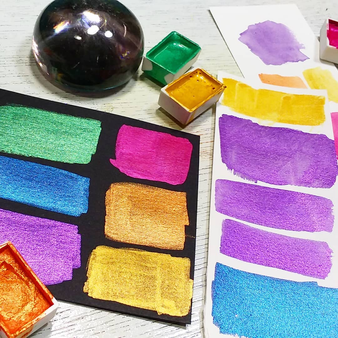 DIY Watercolor Paint!
