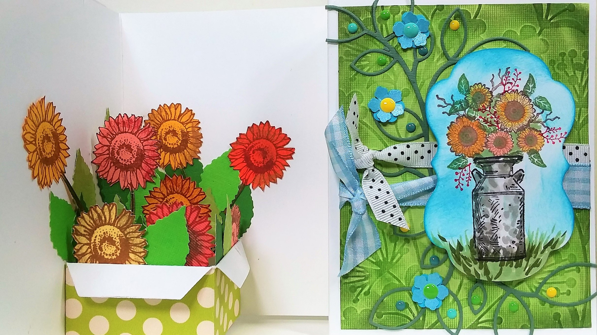Sunflower Pop-Up Card Tutorial!