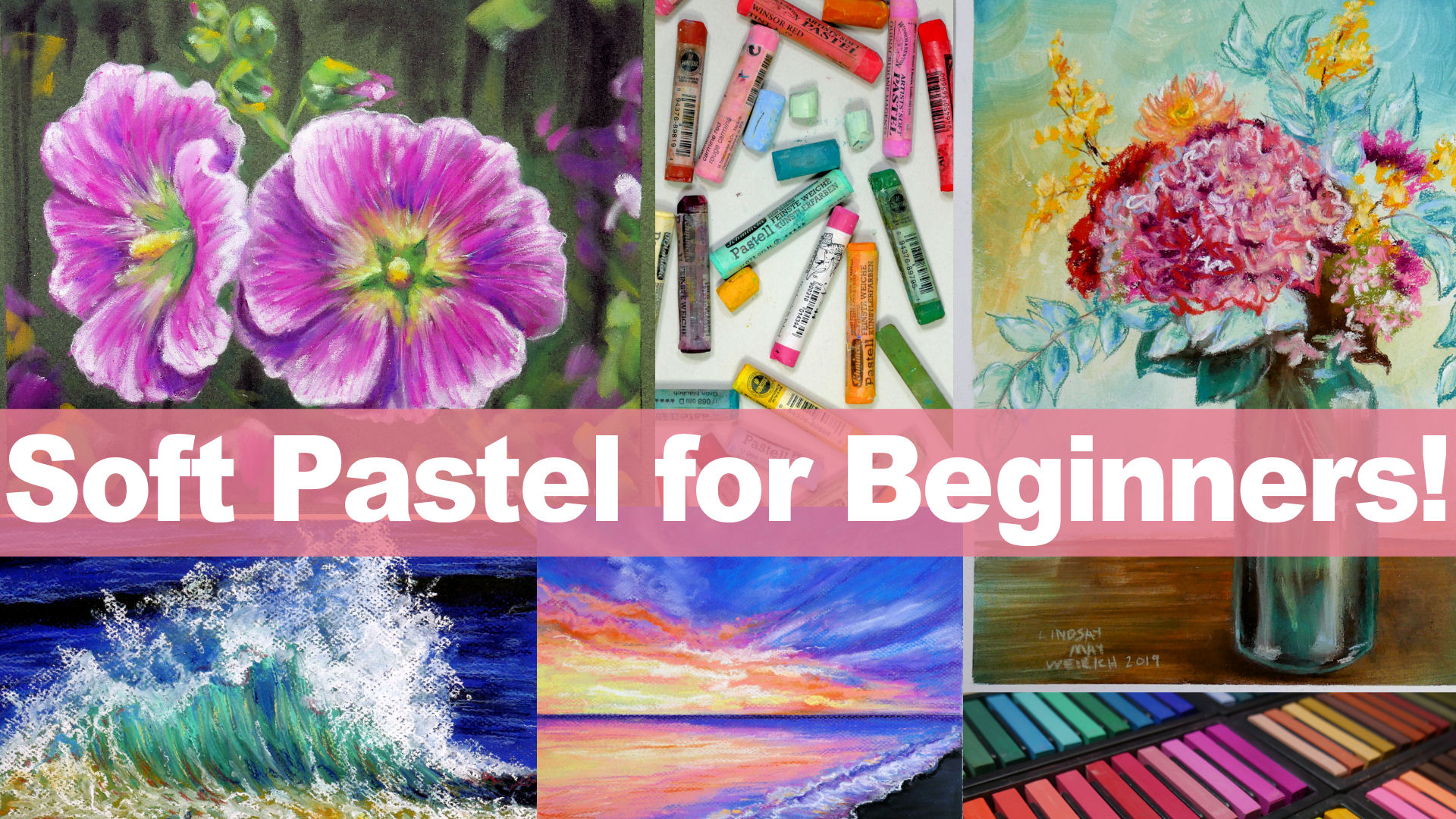 Live Stream Today 1pm ET & A New Pastel Class!
