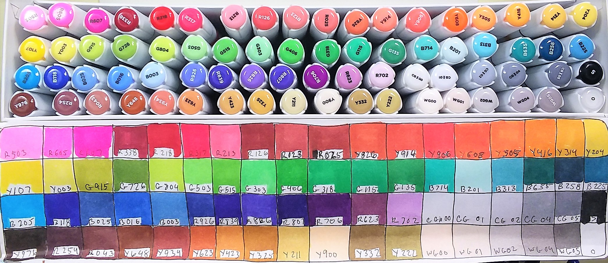 Color with me and learn about markers! Free Image Provided!