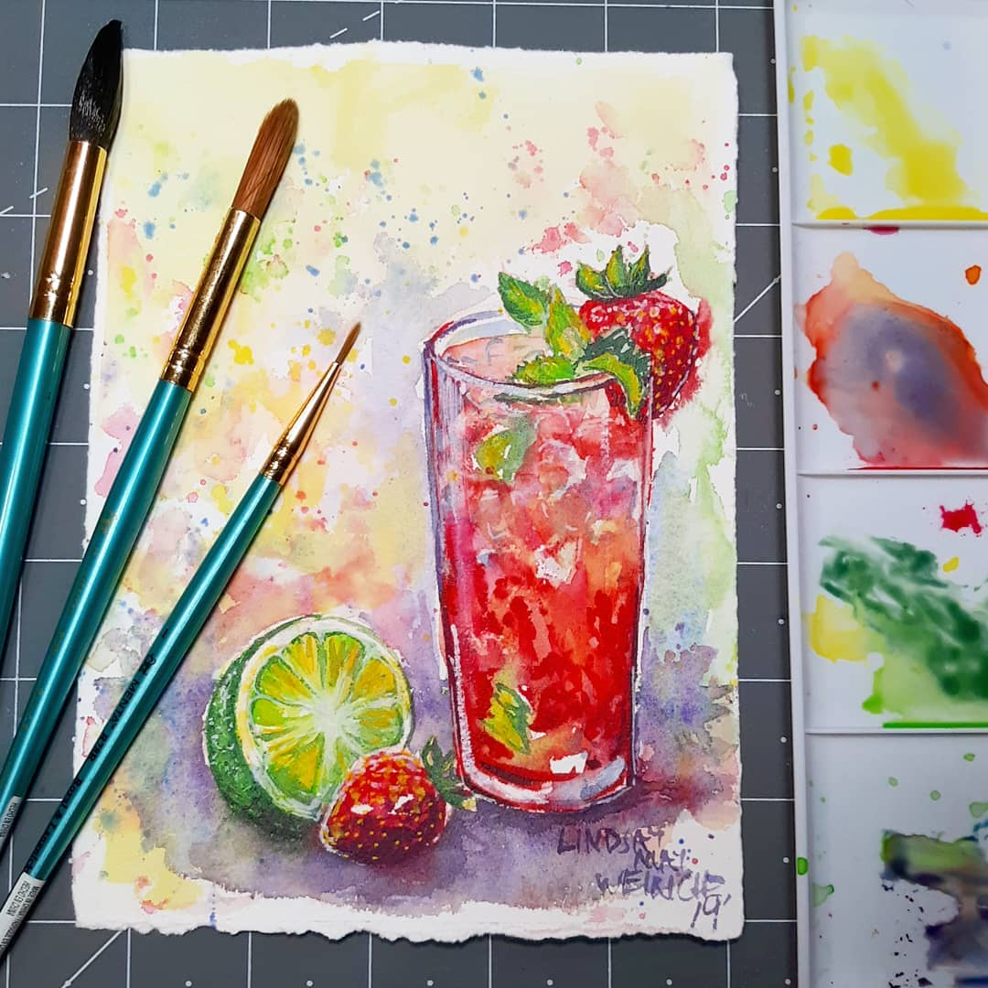 Try this Refreshing Painting!
