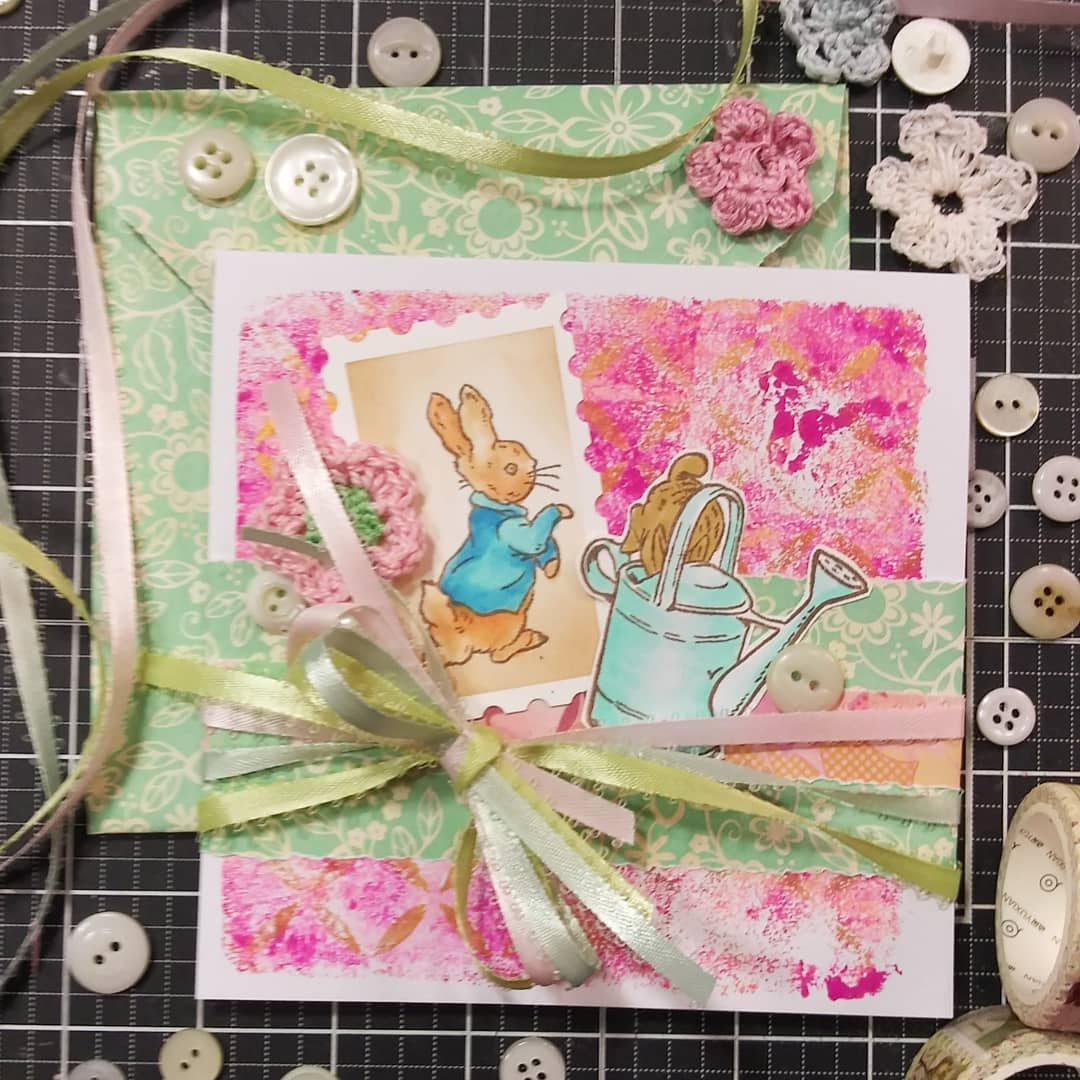 Easter Cards To Make Using Older Supplies!